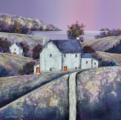 Bay View House by John Mckinstry -  sized 20x20 inches. Available from Whitewall Galleries